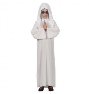 Disfraz de Monja Satánica para niña