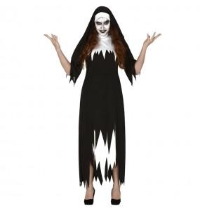 Disfraz de Monja Valak para mujer