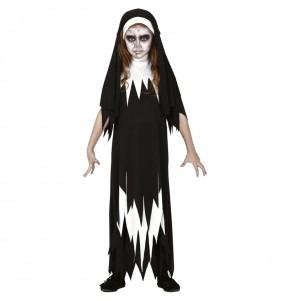 Disfraz de Monja Valak para niña