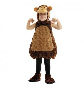 Disfraz de Mono Peluche para niños