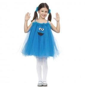 Disfraz de Monstruo de las Galletas con Tutú para niña