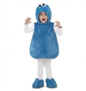 Disfraz de Monstruo de las Galletas Peluche de niño