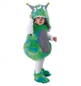 Disfraz de Monstruo verde para bebé
