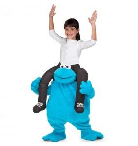 Disfraz de Monstruo Galletas a hombros Barrio Sésamo para niños