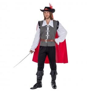 Disfraz de Mosquetero con capa para hombre