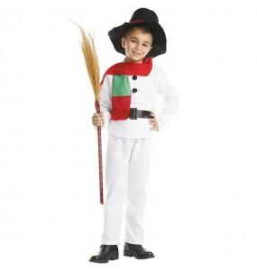Disfraz de Muñeco Nieve para niños