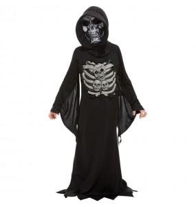 Disfraz de Muerte esqueleto para niño