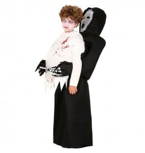 Disfraz de Muerte Hinchable a hombros para niños