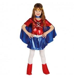 Disfraz de Mujer Maravilla para niña
