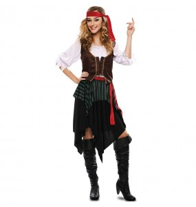 Disfraz de Mujer Pirata barato
