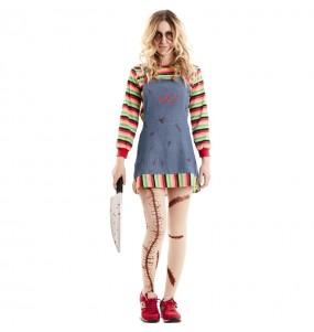 Disfraz de Muñeca diabólica Chucky para mujer