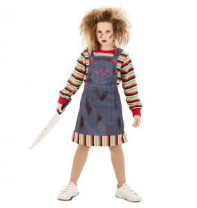 Disfraz de Muñeca diabólica Chucky para niña