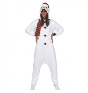 Disfraz de Muñeco de Nieve Adulto