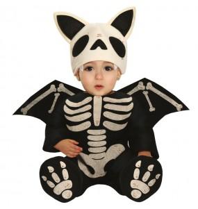 Disfraz de Murciélago Esqueleto para bebé