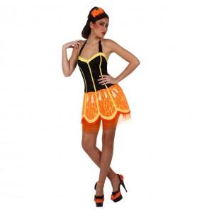 Disfraz de Naranja Mujer