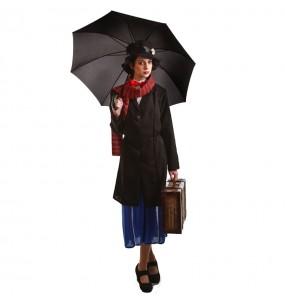 Disfraz de Niñera Mary Poppins para mujer