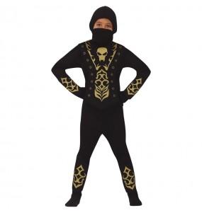 Disfraz de Ninja Esqueleto para niño