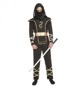Disfraz de Ninja Warrior para hombre