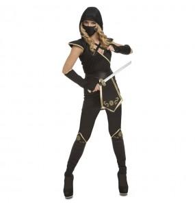 Disfraz de Ninja Warrior para mujer
