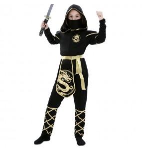 Disfraz de Ninja Warrior para niña