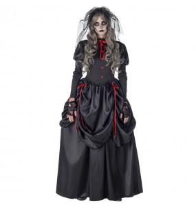 Disfraz de Novia Cadáver Gótica para mujer