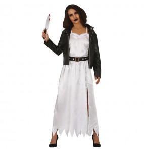 Disfraz de Novia Chucky para mujer