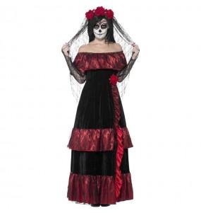 Disfraz de Novia día de los muertos para mujer