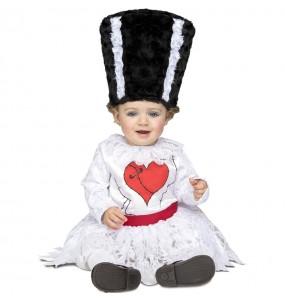 Disfraz de Novia Frankenstein para bebé