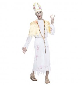 Disfraz de Obispo sangriento para hombre