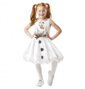 Disfraz de Olaf Frozen 2 para niña