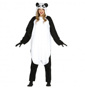 Disfraz de Oso Panda Kigurumi Adulto
