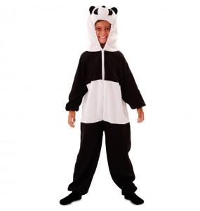 Disfraz de Oso Panda Peluche para niños