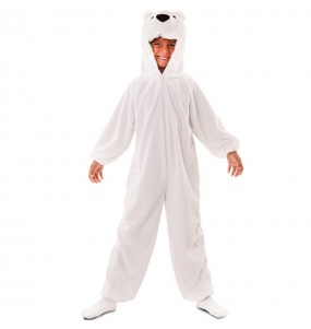 Disfraz de Oso Polar Peluche para niños