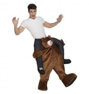 Disfraz de Oso Teddy Bear a hombros adulto