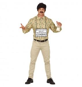 Disfraz de Pablo Escobar para hombre