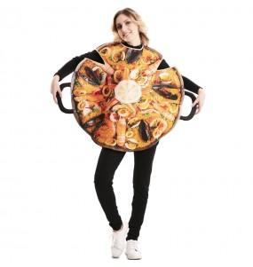 Disfraz de Paella de Marisco para adulto