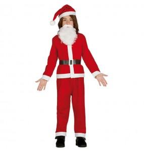 Disfraz de Papá Noel barato para niño
