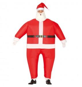Disfraz de Papa Noel hinchable para adulto