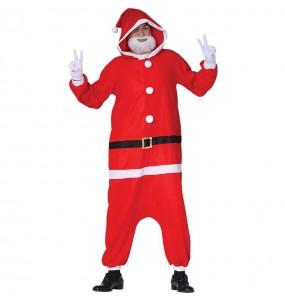 Disfraz de Papa Noel Kigurumi para adulto