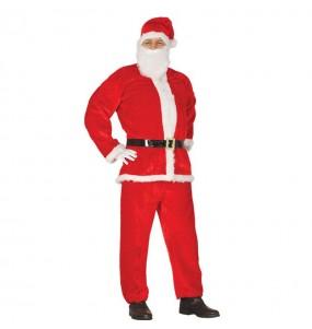 Disfraz de Papá Noel Lujo