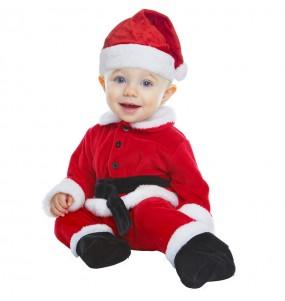 Disfraz de Papá Noel Rojo para bebé