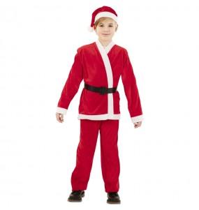 Disfraz de Papá Noel Rojo para niño