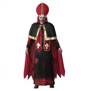 Disfraz de Papa sangriento para hombre