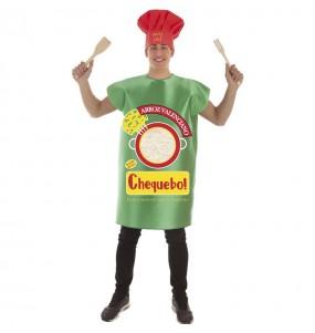 Disfraz de Paquete Arroz para adulto
