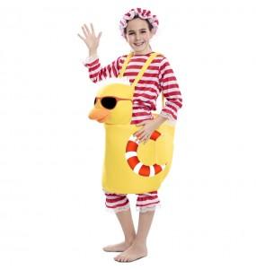 Disfraz de Patito Bañera para niña