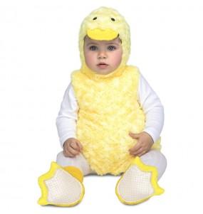 Disfraz de Patito Peluche para bebé