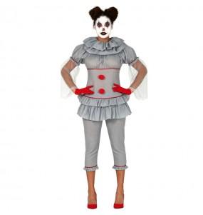 Disfraz de Payasa asesina IT para mujer