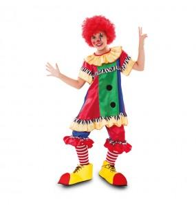 Disfraz de Payasa Circo para niña