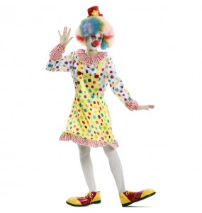 Disfraz de Payasa Colorines Adulto