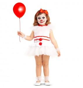 Disfraz de Payasa diabólica IT para bebé